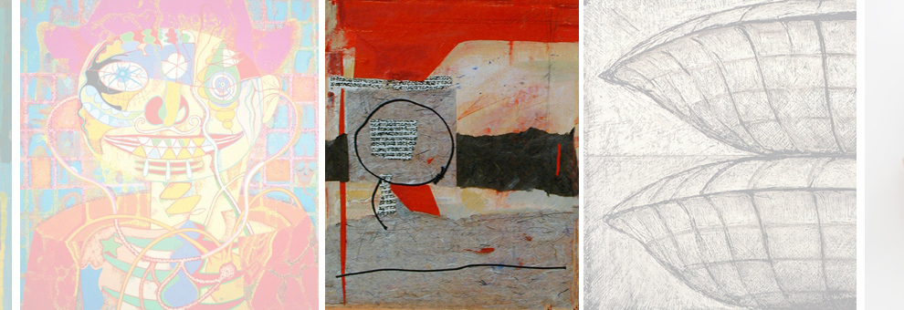 Black Circle - M/media/panel By Cheryl McClure