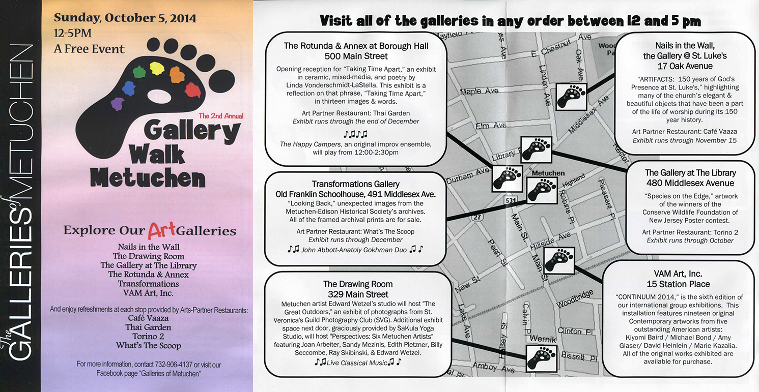Gallery Walk Metuchen 2014